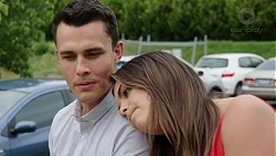 Jack Callaghan, Paige Novak in Neighbours Episode 7769