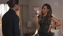 Tyler Brennan, Verity Banks in Neighbours Episode 7769