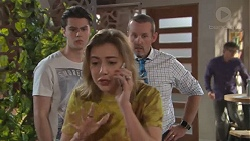 Ben Kirk, Piper Willis, Toadie Rebecchi in Neighbours Episode 7769