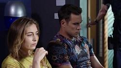 Piper Willis, Aaron Brennan in Neighbours Episode 7770