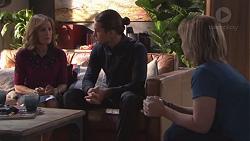 Fay Brennan, Tyler Brennan, Steph Scully in Neighbours Episode 7770