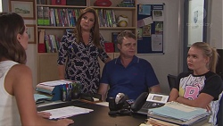 Elly Conway, Terese Willis, Gary Canning, Xanthe Canning in Neighbours Episode 7770