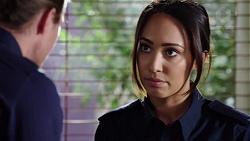 Tyler Brennan, Mishti Sharma in Neighbours Episode 7770