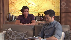 Leo Tanaka, David Tanaka in Neighbours Episode 7771