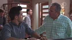David Tanaka, Karl Kennedy in Neighbours Episode 7771