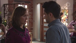 Fay Brennan, David Tanaka in Neighbours Episode 7771