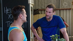 Aaron Brennan, Rory Zemiro in Neighbours Episode 7772