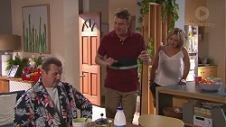 Toadie Rebecchi, Gary Canning, Steph Scully in Neighbours Episode 7772