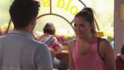 David Tanaka, Paige Novak in Neighbours Episode 7772