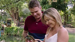 Gary Canning, Steph Scully in Neighbours Episode 7772