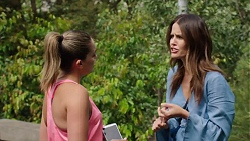 Paige Novak, Elly Conway in Neighbours Episode 7772