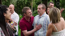 Yashvi Rebecchi, Gary Canning, Toadie Rebecchi, Steph Scully in Neighbours Episode 7772