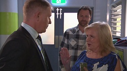 Clive Gibbons, Shane Rebecchi, Sheila Canning in Neighbours Episode 7773