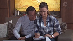 Paul Robinson, Amy Williams in Neighbours Episode 7773