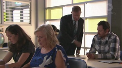 Sheila Canning, Clive Gibbons, Shane Rebecchi in Neighbours Episode 7773