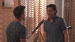 Aaron Brennan, Leo Tanaka in Neighbours Episode 7773