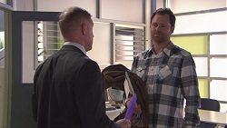 Clive Gibbons, Shane Rebecchi in Neighbours Episode 7773