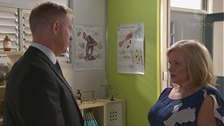 Clive Gibbons, Sheila Canning in Neighbours Episode 7773