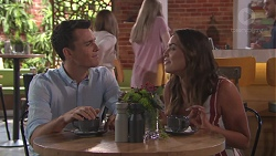 Jack Callaghan, Paige Novak in Neighbours Episode 7775