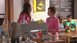Dipi Rebecchi, Susan Kennedy in Neighbours Episode 7775
