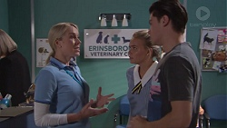 Sarah Whelan, Xanthe Canning, Ben Kirk in Neighbours Episode 7775