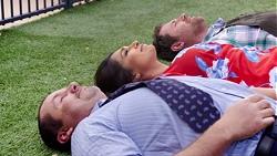 Toadie Rebecchi, Dipi Rebecchi, Shane Rebecchi in Neighbours Episode 7775