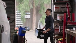 Adrian Snyder in Neighbours Episode 7776