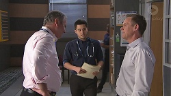 Karl Kennedy, David Tanaka, Paul Robinson in Neighbours Episode 7776