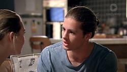 Piper Willis, Tyler Brennan in Neighbours Episode 7777