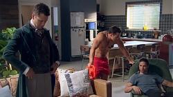 Mark Brennan, Aaron Brennan, Tyler Brennan in Neighbours Episode 7777