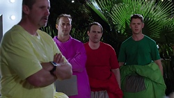 Toadie Rebecchi, Stuart Parker, Stonie Rebecchi, Lance Wilkinson in Neighbours Episode 7777