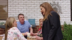 Xanthe Canning, Gary Canning, Sheila Canning, Terese Willis in Neighbours Episode 7777