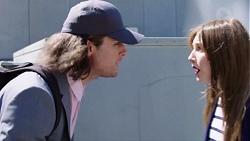 Tyler Brennan, Piper Willis in Neighbours Episode 7777