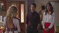 Izzy Hoyland, Ben Kirk, Elly Conway in Neighbours Episode 7777