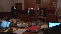 Tipstaff Freddy Poljack, Roz Challis in Neighbours Episode 7777