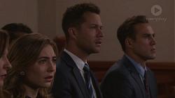 Piper Willis, Mark Brennan, Aaron Brennan in Neighbours Episode 7777