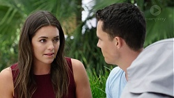 Paige Novak, Jack Callaghan in Neighbours Episode 7777
