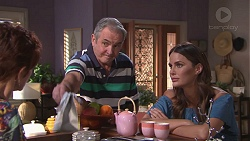 Susan Kennedy, Karl Kennedy, Elly Conway in Neighbours Episode 7778