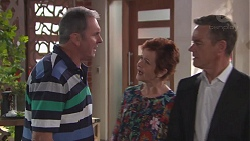 Karl Kennedy, Susan Kennedy, Paul Robinson in Neighbours Episode 7778