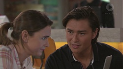 Amy Williams, Leo Tanaka in Neighbours Episode 7779