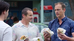 Ben Kirk, Toadie Rebecchi, Stuart Parker in Neighbours Episode 7779