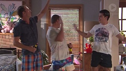 Stuart Parker, Toadie Rebecchi, Ben Kirk in Neighbours Episode 7779