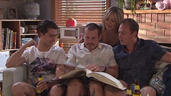 Ben Kirk, Toadie Rebecchi, Steph Scully, Stuart Parker in Neighbours Episode 7779