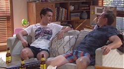 Ben Kirk, Stuart Parker in Neighbours Episode 7779