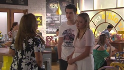 Terese Willis, Ben Kirk, Xanthe Canning in Neighbours Episode 7779