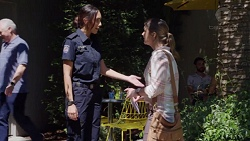 Mishti Sharma, Amy Williams in Neighbours Episode 7780