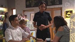 David Tanaka, Mishti Sharma, Paige Novak in Neighbours Episode 7780