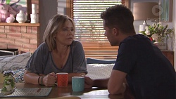 Steph Scully, Mark Brennan in Neighbours Episode 7780