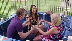 Gary Canning, Dipi Rebecchi, Sheila Canning in Neighbours Episode 7780
