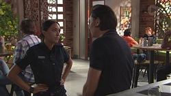 Mishti Sharma, Leo Tanaka in Neighbours Episode 7780